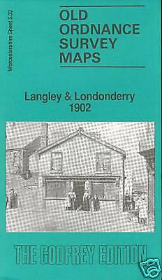 Old Ordnance Survey Map Langley & Londonderry 1902