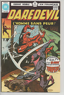 DAREDEVIL #61/62 french comic français EDITIONS HERITAGE