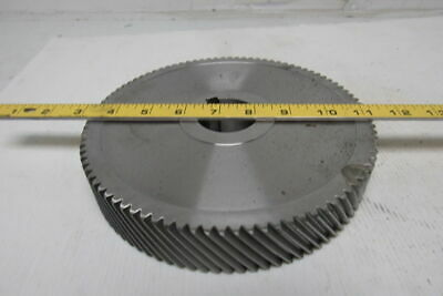 """F0227635 Left hand Helical Gear 92 Tooth 8-3/16"""" O.D. 1-9/16"""" Bore"""