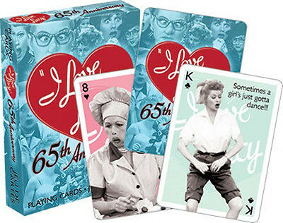 I Love Lucy TV Series 65th Anniversary Photo Illustrated Playing Cards, SEALED