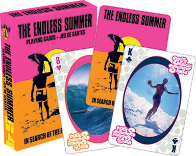 Endless Summer Classic Surfing Movie Photo Illustrated Playing Cards, NEW SEALED