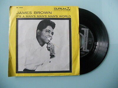 Vinile 45 Giri - James Brown - It's a man's man's man's world / Is it yes or....