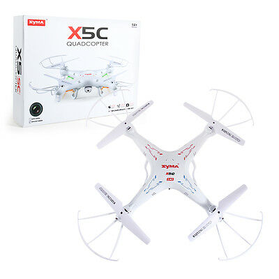 Syma X5C RC Quadcopter Drone 2.4Ghz 4CH 6-Axis Gyro RTF UFO Helicopter