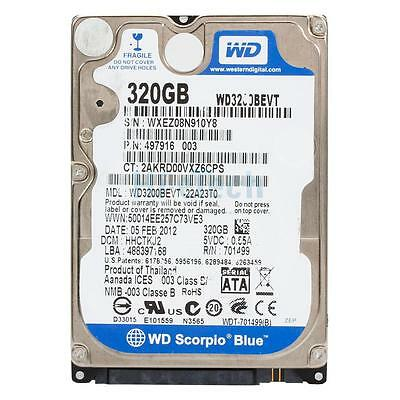 """New 320GB 8MB Cache 5400RPM SATA 2.5"""" Hard Drive HDD for Sony PS3 Super Slim"""