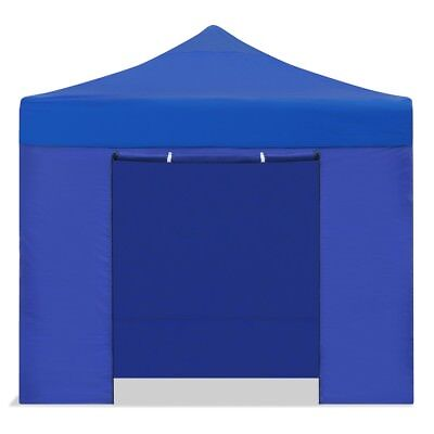 Carpa plegable jardín 3x3 color azul Mchaus carpa para eventos fiestas 3x3