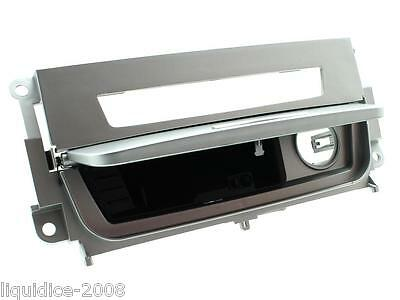 Bmw 3 E90 Ashtray Infill For Cars With Heated Seats Silve Single Din 2006 Onward