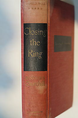 WW2 British Winston S. Churchill Closing The Ring Reference Book