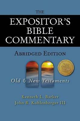 The Expositor's Bible Commentary - Abridged Edition: Two-Volume Set by Kenneth L