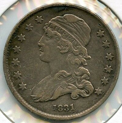 1831 Capped Bust Quarter - AD894