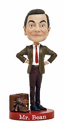 Royal Bobbles Mr. Bean Bobblehead British Comedy Rowan Atkinson Licensed