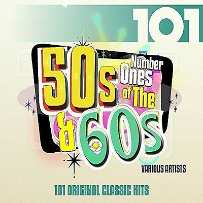 101 - Number 1s Of The 50s & 60s [CD New]