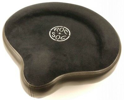 Roc n Soc Cycle Seat Drumming Stool Top Black