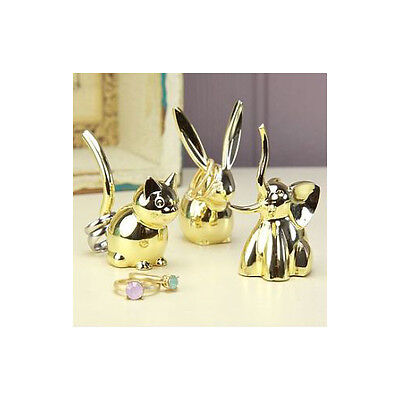 Umbra ZOOLA RING BRASS HOLDER choice bunny,cat,elephant,or monkey