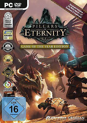 Pillars of Eternity  GotY   Game of the Year Edition    PC   !!!!! NEU+OVP !!!!!