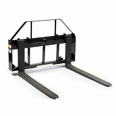 "48"" Pallet Fork Attachment, Landscape Forks, Kubota/Holland Skid Steer, Quick At"
