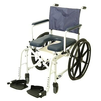 Invacare Mariner Rehab Shower Commode Chair with 18 Inches Seat