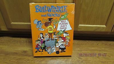 Bullwinkle and Rocky Role Playing Party Game - NEW