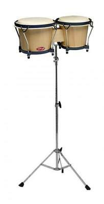 Stagg BW-70-N Percussion Bongo Drums On A SG761 Stand