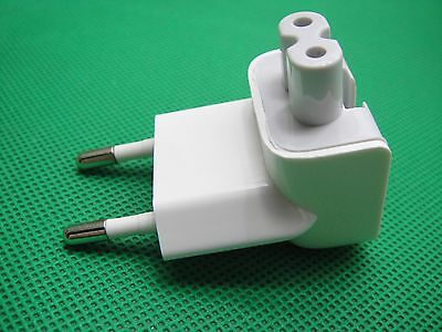 OEM Travel 2-Pin AC Power Adapter EURO Wall Plug Charger APPLE MacBook Air Pro