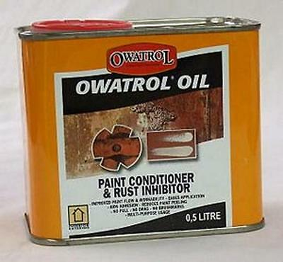 Owatrol Oil Paint Conditioner And Rust Inhibitor 500ML
