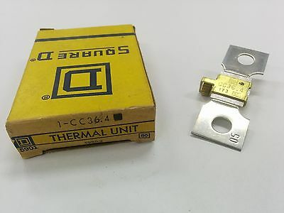 Square D Cc36.4 Overload Relay Thermal Unit Cc 36.4 Nib