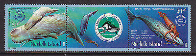 2002 Norfolk Island Joint Issue New Caledonia Sperm Whales - MUH
