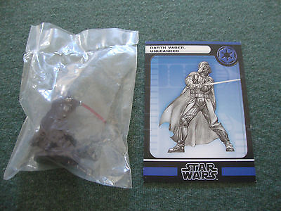Darth Vader Unleashed Star Wars Miniatures Force Unleashed