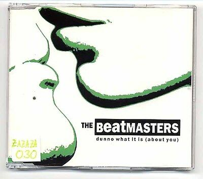 """The Beatmasters Maxi-CD Dunno What It Is (About You) - 3inch 3"""" CD - 150.1090.3"""
