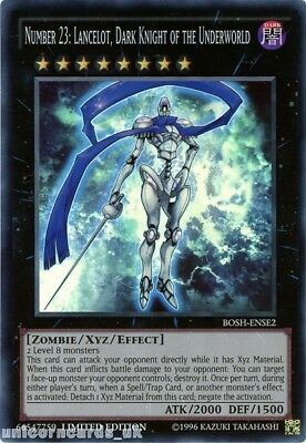 BOSH-ENSE2 Number 23: Lancelot, Dark Knight of the Underworld Super Rare Limited