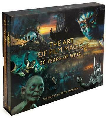 The Art of Film Magic: Weta at 20 by Hardcover Book (English)