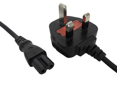 Mixed 1.5M to 1.8M Metre C7 Charger Power Supply Cable Mains Lead UK Plug