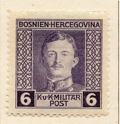 Bosnia Herzegovina 1917 Early Issue Fine Mint Hinged 6h. 047168