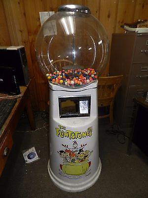 Seaga Super Snack Mechanical Vending Machine Candy Located in Rockford Illinois