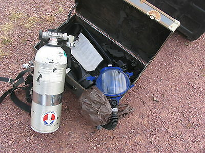 Survivair XL-30 Air-Pack SCBA With Case Fire & Rescue Firefigher