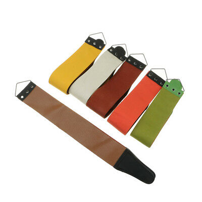Brand New Barber PU Leather Strop Straight Razor Sharpening Shave Shaving Strap