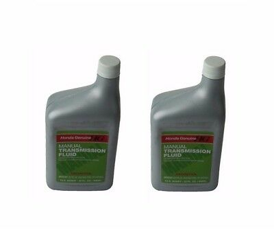 Fits Pair Set Of 2 Bottles Quarts Genuine Honda Manual Transmission Fluid  MTF