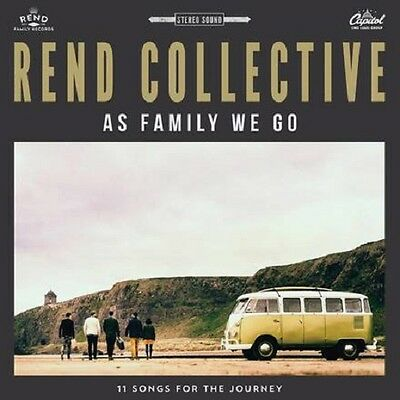 REND COLLECTIVE - AS FAMILY WE GO DELUXE EDITION CD ALBUM (August 21st 2015)