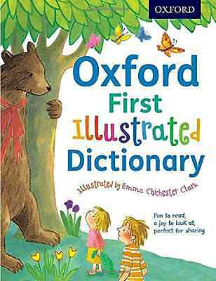 Oxford First Illustrated Dictionary - Paperback NEW Andrew Delahunt 2016-03-03