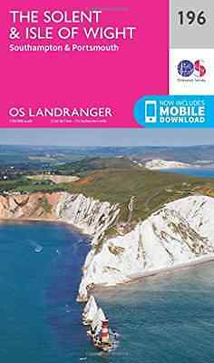 Landranger (196) The Solent & the Isle of Wight, Southa - Map NEW Ordnance Surve