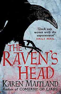 The Raven's Head - Hardcover NEW Karen Maitland( 2015-03-12