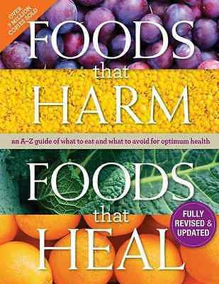 Foods That Harm, Foods That Heal Cookbook: An A-Z Guide - Hardcover NEW Readers