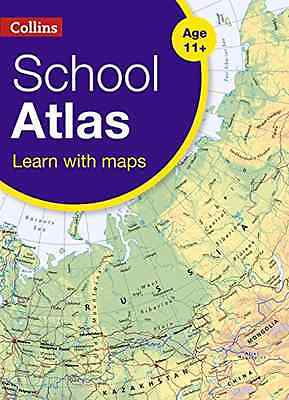 Collins School Atlas (Collins School Atlas) - Paperback NEW Collins Maps (A 2016