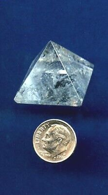 Quartz Crystal Pyramid  #3