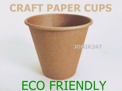 100 pieces 8 oz 250 ml disposable paper cups, coffee cups, hot cups single wall