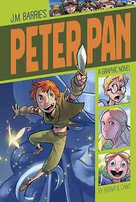 Peter Pan (Graphic Revolve: Common Core Editions) - Paperback NEW Blake Hoena (A
