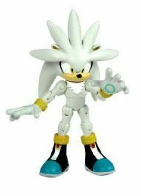 """Rare Sonic The Hedgehog Silver Sonic 3"""" Sealed Action Figure - Retired"""