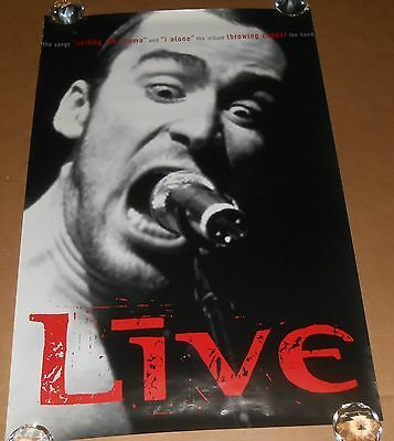 Live Throwing Copper Poster Original Promo 36x24 Ed Kowalczyk