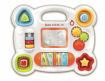 Bontempi Baby Activity Light & Sound Child Interactive Mirror Toy Shape Learning