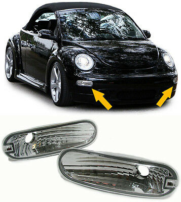 KLARGLAS BLINKER CHROM für VW New Beetle 98-06