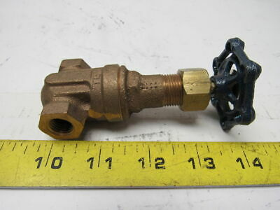 "Powell 1/4"" Bronze Gate Valve Rising Stem Class 125"